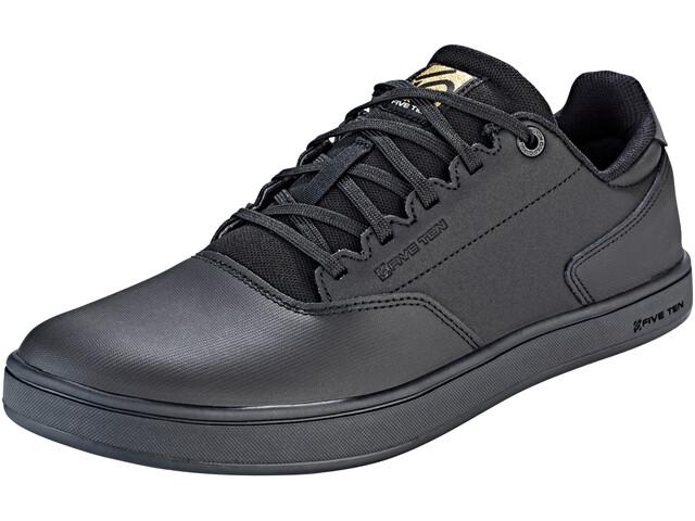 Five Ten 5.10 District Flats Shoes Men core black/core black/goldmt